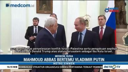 Bertemu di Moskow, Putin-Abbas Bahas Konflik Israel-Palestina