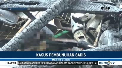 Diduga Cemburu, Pria di Bogor Tusuk dan Bakar Satu Keluarga