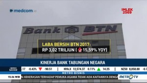 2017, BTN Raup Laba Bersih Rp3,02 Triliun