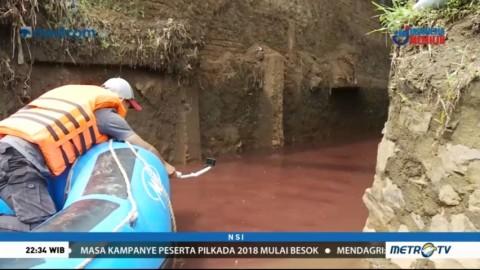 Temuan Limbah Pabrik di Sungai Citarum