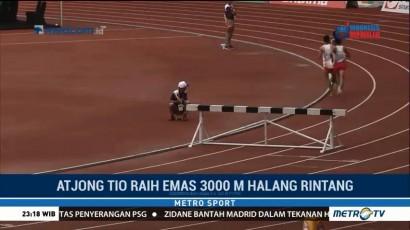 Test Event Asian Games, Indonesia Tambah Dua Medali Emas dari Cabor Atletik