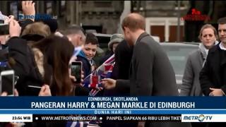 Kedatangan Pangeran Harry & Meghan Markle ke Edinburgh Disambut Antusias Warga