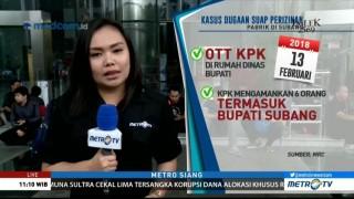 Kronologis OTT Bupati Subang oleh KPK