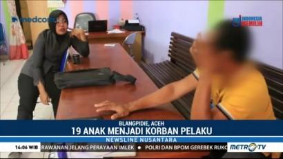 19 Anak Aceh Jadi Korban Pelecehan Seksual Sekdes