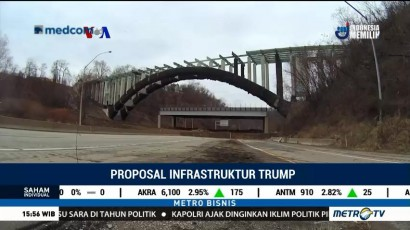 Kubu Oposisi Menilai Proposal Infrastruktur Trump Tidak Realistis