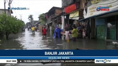 Banjir Setinggi 1 Meter Genangi Ratusan Rumah di Kalideres