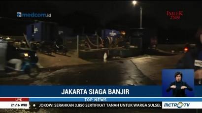 Banjir di Kawasan Duri Kepa Surut