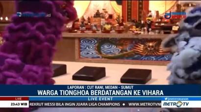Kemeriahan Perayaan Imlek di Vihara Pak Ti Hut Cho Medan