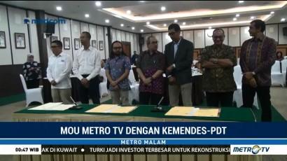 Kemendes PDTT Gandeng Metro TV untuk Kawal Dana Desa
