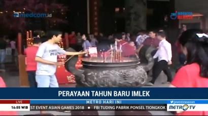 Semarak Imlek di Medan dan Makassar