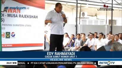 Cagub Sumut Edy Rahmayadi Temui Forum Relawan Eramas