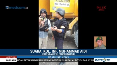 TNI Siap Bantu Polri Investigasi Penembakan Kelompok Bersenjata di Papua