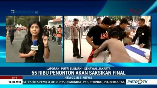 Jokowi akan Saksikan Final Piala Presiden 2018
