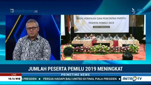 Arief Budiman Persilakan PBB dan PKPI Gugat KPU ke Bawaslu