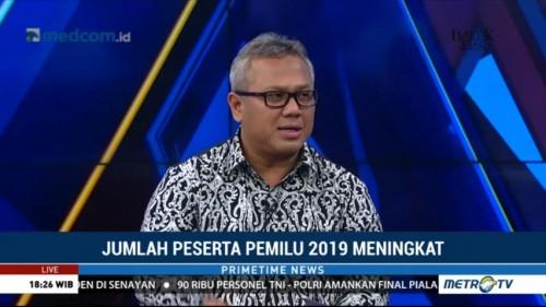 Ketua KPU Beberkan Faktor Penyebab Jumlah Peserta Pemilu Naik