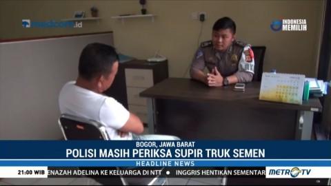 Polresta Bogor Kota Periksa Sopir Truk Penabrak Angkot