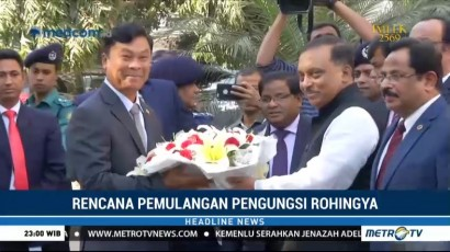 Menteri Myanmar Kunjungi Bangladesh Bahas Pemulangan Pengungsi Rohingya