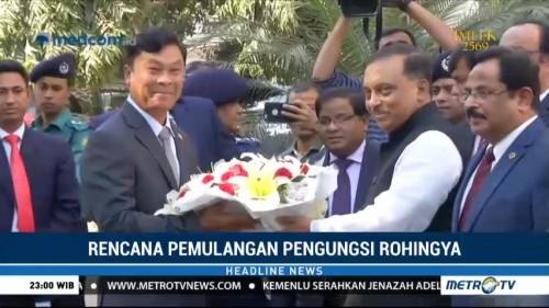 Menteri Myanmar Kunjungi Bangladesh Bahas Pemulangan Pengungsi