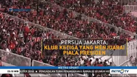 Data dan Fakta Piala Presiden 2018