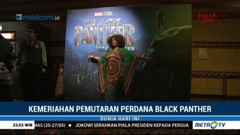 Kemeriahan Pemutaran Perdana Black Panther