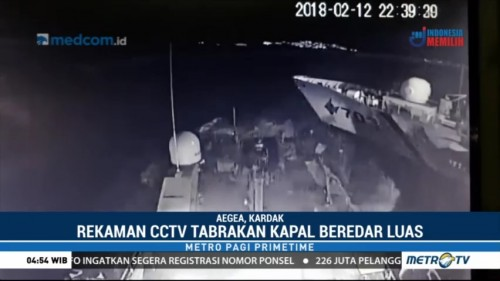 Kapal Turki Tabrak Kapal Patroli Yunani di Perbatasan