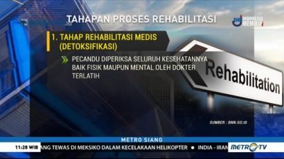 Tiga Tahapan Rehabilitasi Pecandu Narkoba