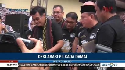 Paslon Gubernur Sumut Komitmen Jaga Pilkada Damai