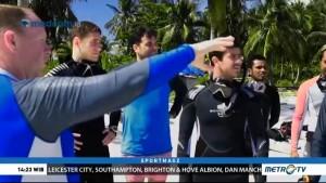 Sean Gelael Ajak Pembalap Dunia Menikmati Keindahan Alam Raja Ampat