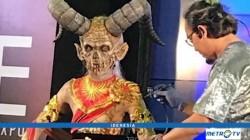 Cherry Wirawan Berekspresi Lewat Prosthetic Make Up