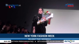 Vivi Zubedi, Desainer Indonesia di New York Fashion Week 2018