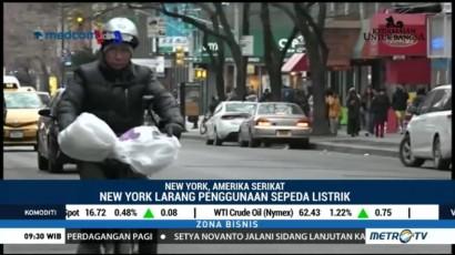 Larangan Sepeda Listrik di New York Timbulkan Dilema Para Imigran