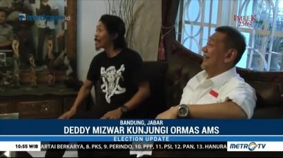 Deddy Mizwar Sulaturahmi ke Sekretariat Angkatan Muda Siliwangi