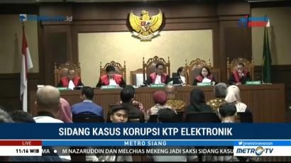 Jaksa Hadirkan Nazaruddin, Marcus Mekeng dan Arief Wibowo untuk Novanto