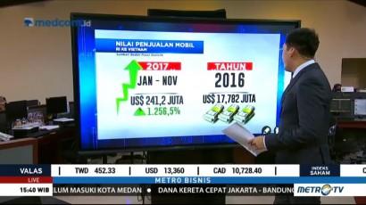 Data Ekspor Mobil Indonesia ke Vietnam