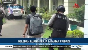 KPK Geledah Rumah Dinas Bupati Subang