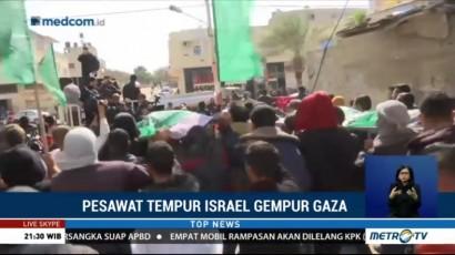 Jet Tempur Israel Serang Jalur Gaza