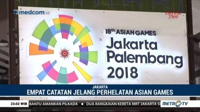 Empat Hal Jadi Catatan dari Evaluasi Test Event Asian Games 2018