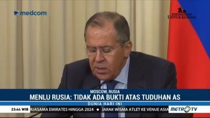 Rusia Bantah Tuduhan AS Soal Intervensi Pemilu