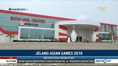 Pembangunan Empat Venue di Jakabaring Sudah Rampung