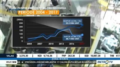 Ekspor Otomotif Indonesia Catat Rekor Tertinggi