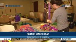 Parade Mardi Gras Tampilkan Karya Daur Ulang Sampah