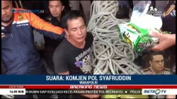 Penyelundupan 1,6 Ton Narkoba Sudah Diintai Selama 3 Bulan