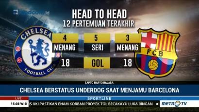 Preview Chelsea vs Barca: Waspada Status <i>Underdog</i> The Blues