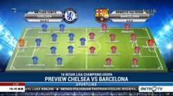Strategi dan Formasi Chelsea vs Barcelona