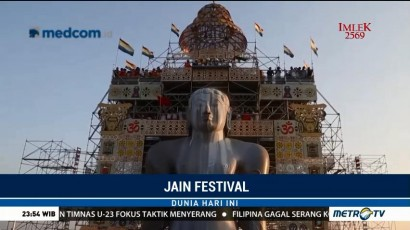 Jain Festival Kembali Digelar di India