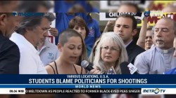 US Students Blame Politicians for School Shootings