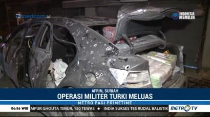 Agresi Militer Turki di Suriah Meluas ke Wilayah Afrin