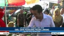 Emil Dardak & Puti Guntur Soekarno Blusukan ke Pasar Tradisional