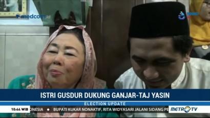Istri Gus Dur Dukung Ganjar-Taj Yasin