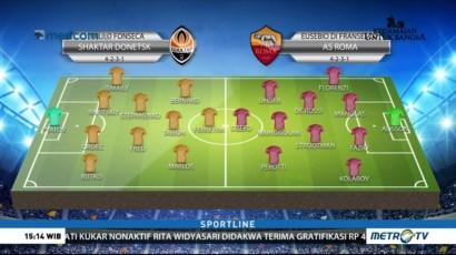 Skuat Terbaik Donetsk Siap Jamu AS Roma